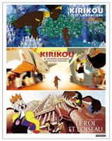 「キリクと魔女」「キリクと魔女2」「王と鳥」 Blu-ray BOXの評価・レビュー(感想)・ネタバレ