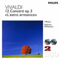 ヴィヴァルディ:協奏曲集(調和の幻想)作品3の評価・レビュー(感想)・ネタバレ