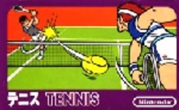 テニスのジャケット写真