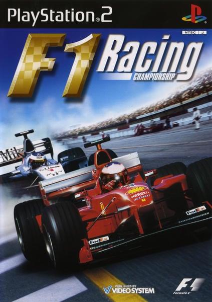 F1 Racing Championshipのジャケット写真