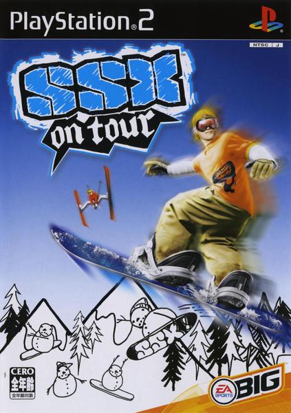 SSX On Tourのジャケット写真