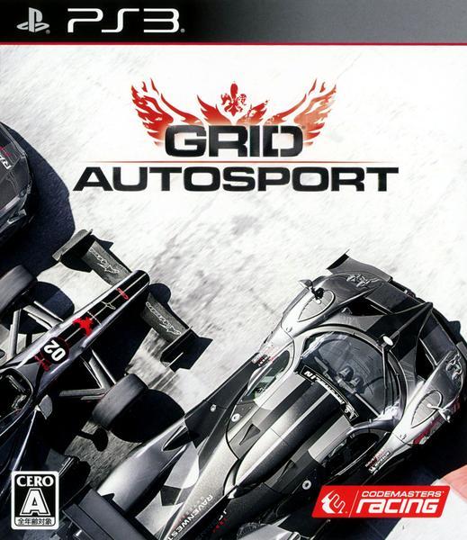 GRID Autosportのジャケット写真