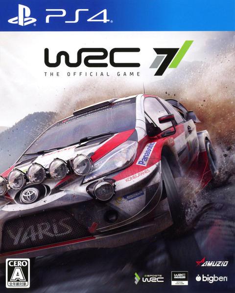 WRC 7のジャケット写真
